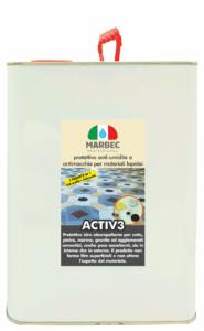 Marbec   ACTIV3 5LT Protettivo anti-umidità e antimacchia per materiali lapidei
