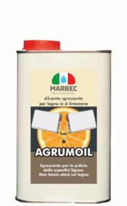 Marbec | AGRUMOIL 1LT Diluente sgrassante per legno in d-limonene