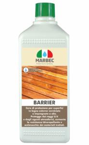 BARRIER | MARBEC 1LT Finitura protettiva e nutritiva per legni esterni