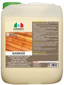 BARRIER | MARBEC 5LT Finitura protettiva e nutritiva per legni esterni