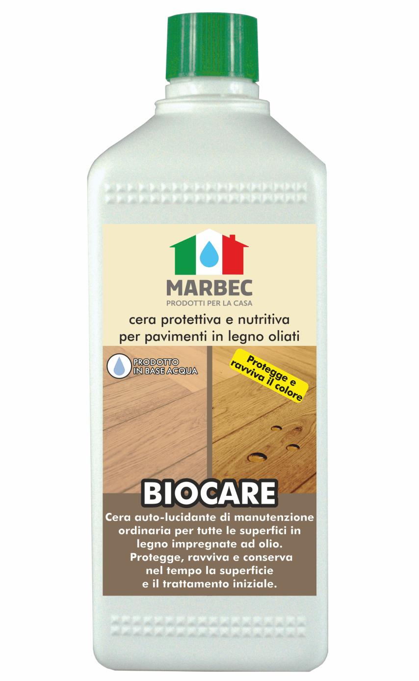 MARBEC | BIOCARE 1lt Cera protettiva e nutritiva per pavimenti in legno oliati