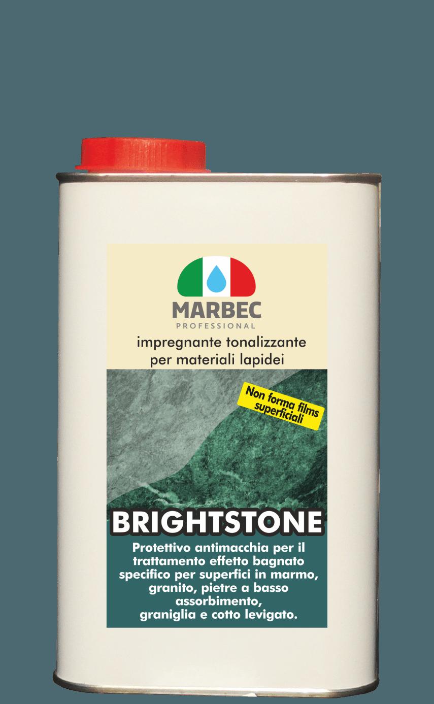 MARBEC | BRIGHTSTONE 1lt Impregnante tonalizzante per materiali lapidei