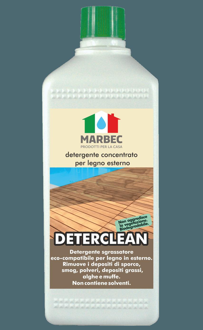 MARBEC | DETER CLEAN 1lt Detergente concentrato per legno esterno
