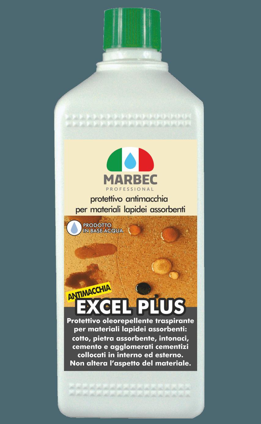 MARBEC | EXCEL PLUS 1LT Protettivo antimacchia per materiali lapidei assorbenti