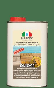 MARBEC | OLIO 41 1LT Impregnante oleo-ceroso per pavimenti esterni in legno