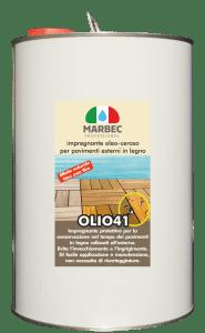 MARBEC | OLIO 41 5LT Impregnante oleo-ceroso per pavimenti esterni in legno