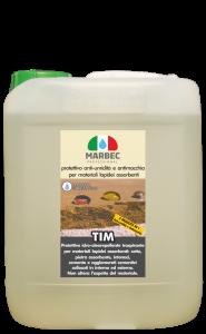 Marbec - TIM 5LT   protettivo anti-umidità e antimacchia per materiali lapidei assorbenti