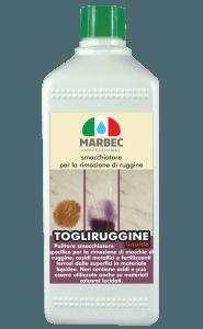 Marbec - TOGLIRUGGINE LIQUIDO 500ML | Smacchiatore per la rimozione di ruggine