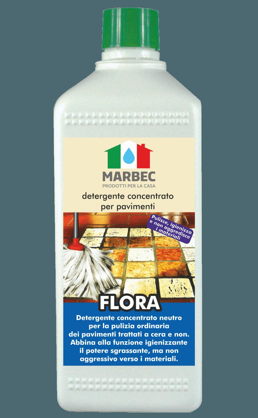 MARBEC | FLORA 1LT Detergente concentrato per pavimenti