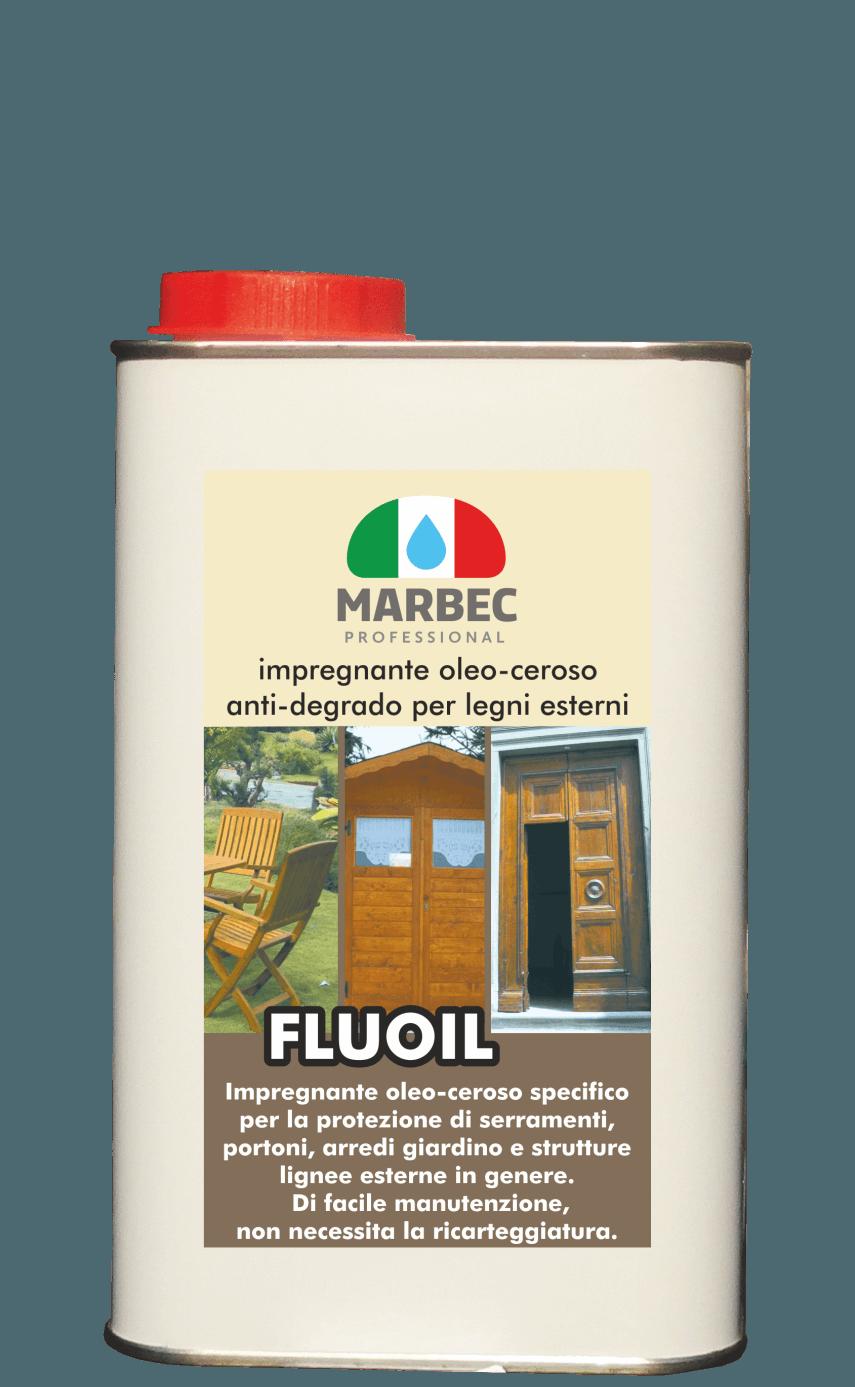 MARBEC | FLUOIL 1LT Impregnante oleo-ceroso anti-degrado per legni esterni
