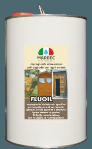 MARBEC | FLUOIL 5LT Impregnante oleo-ceroso anti-degrado per legni esterni