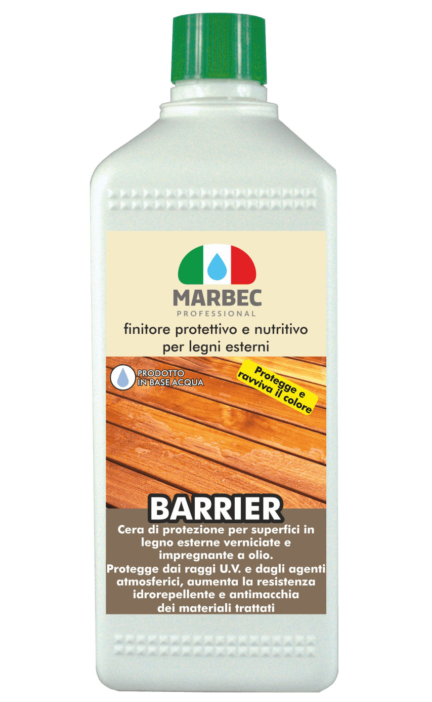 Finitura protettiva e nutritiva per legni esterni rev2-ver260318 BARRIER | MARBEC