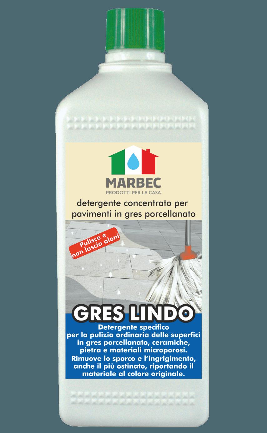 MARBEC | GRES LINDO 1LT  Detergente concentrato per  pavimenti in gres porcellanato