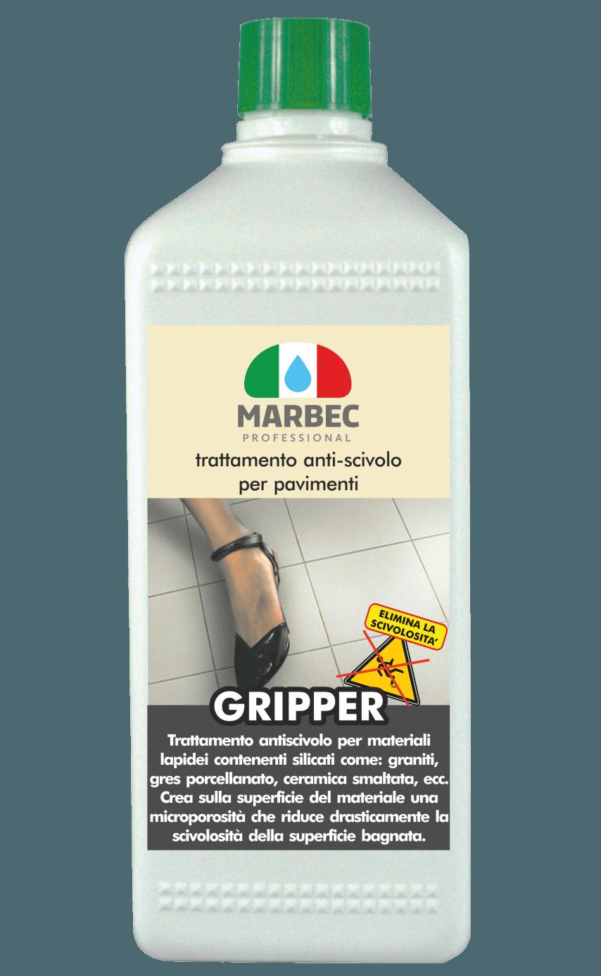 MARBEC | GRIPPER 1LT Trattamento anti-scivolo per pavimenti