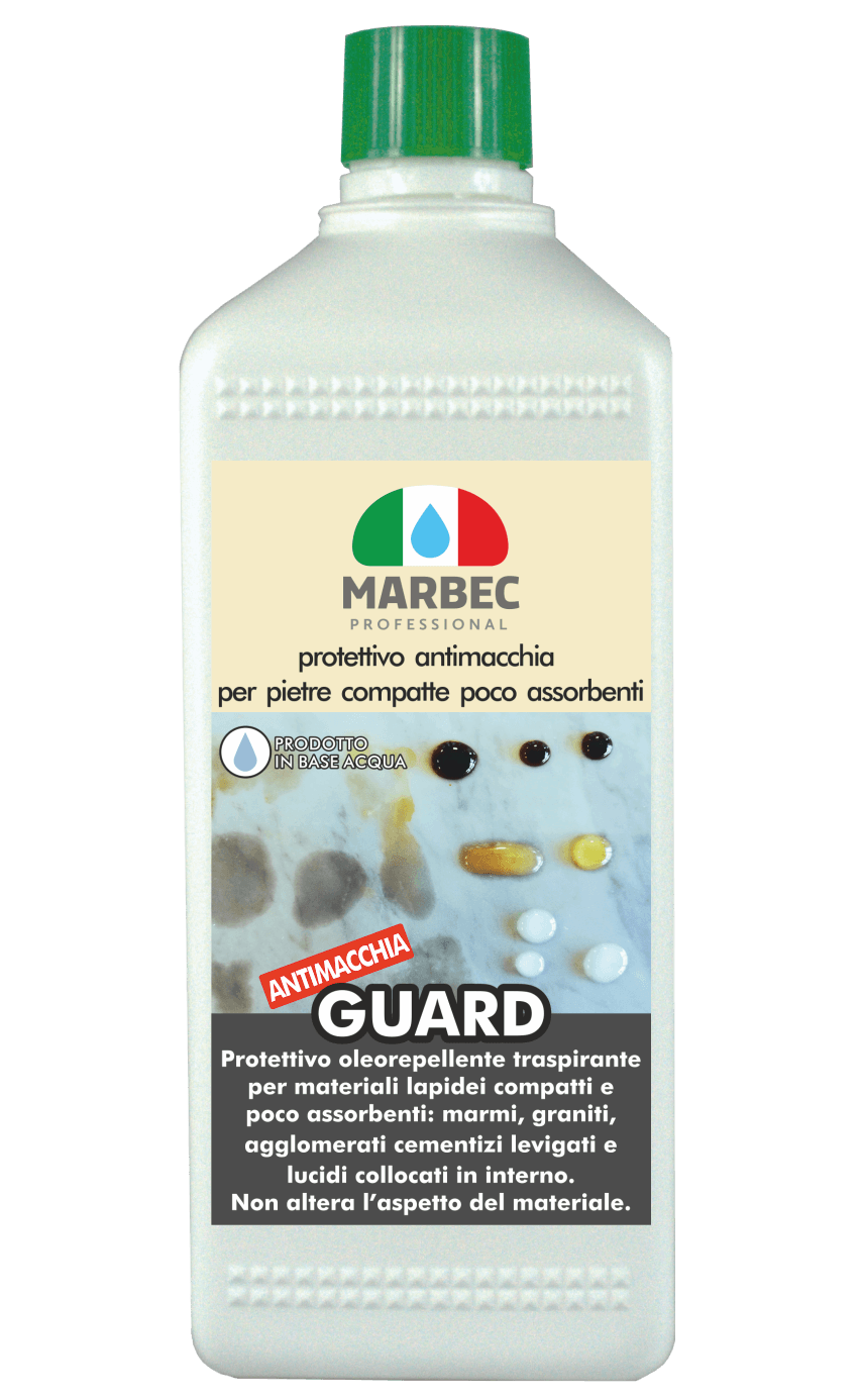 MARBEC | GUARD 1LT stain-resistant protective agent for compact, poorly absorbent stones