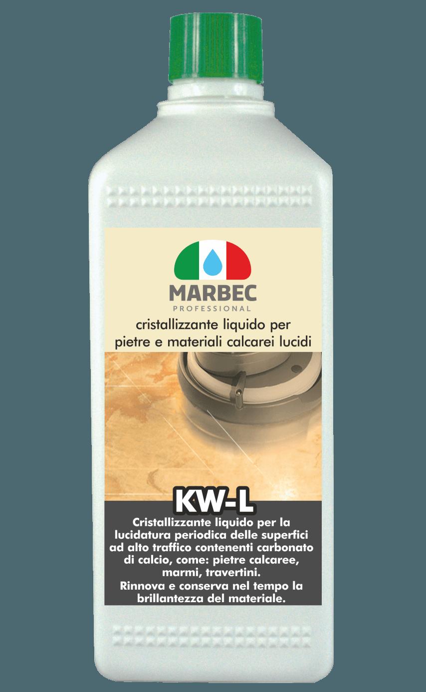 Marbec KW-L 1LT | Cristallizzante liquido per pietre e materiali calcarei lucidi