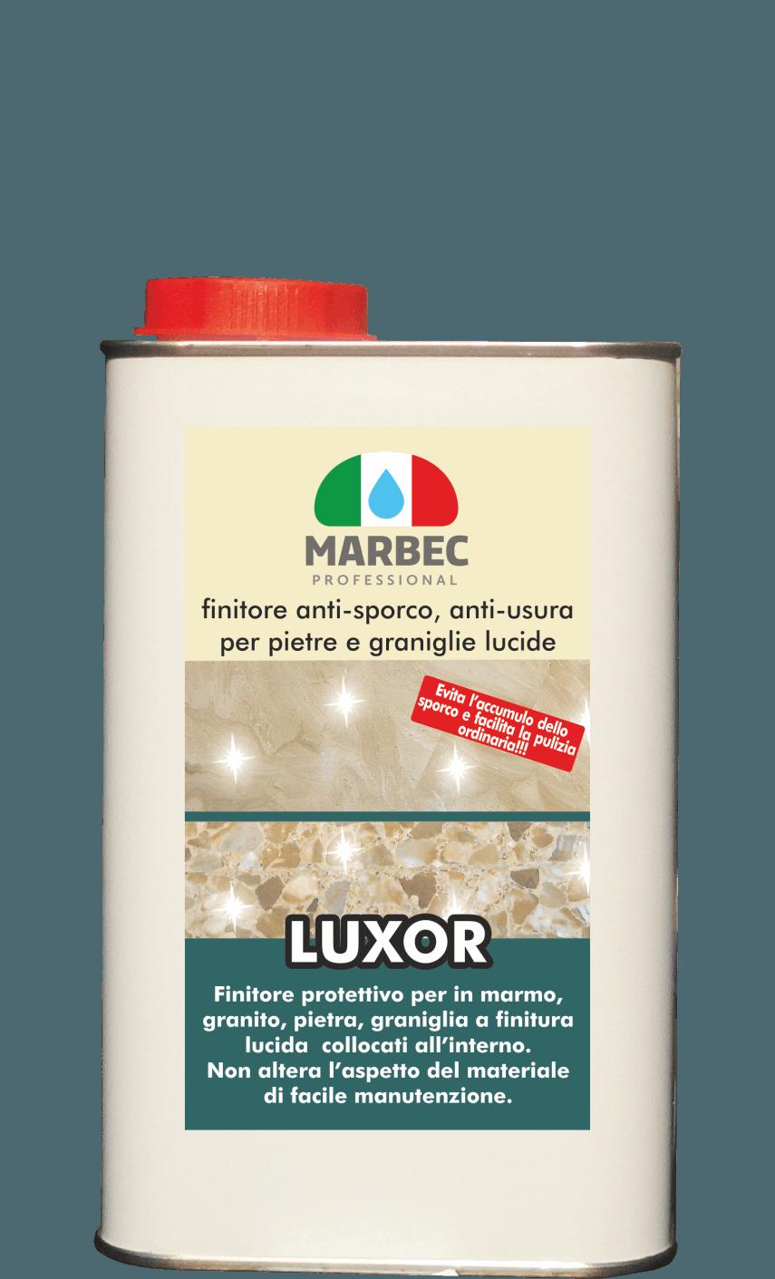MARBEC | LUXOR 1LT FIinitore anti-sporco, anti-usura per pietre e graniglie lucide