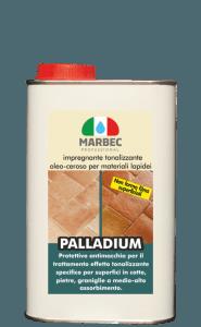 Marbec PALLADIUM 1LT | Impregnante tonalizzante oleo-ceroso per materiali lapidei