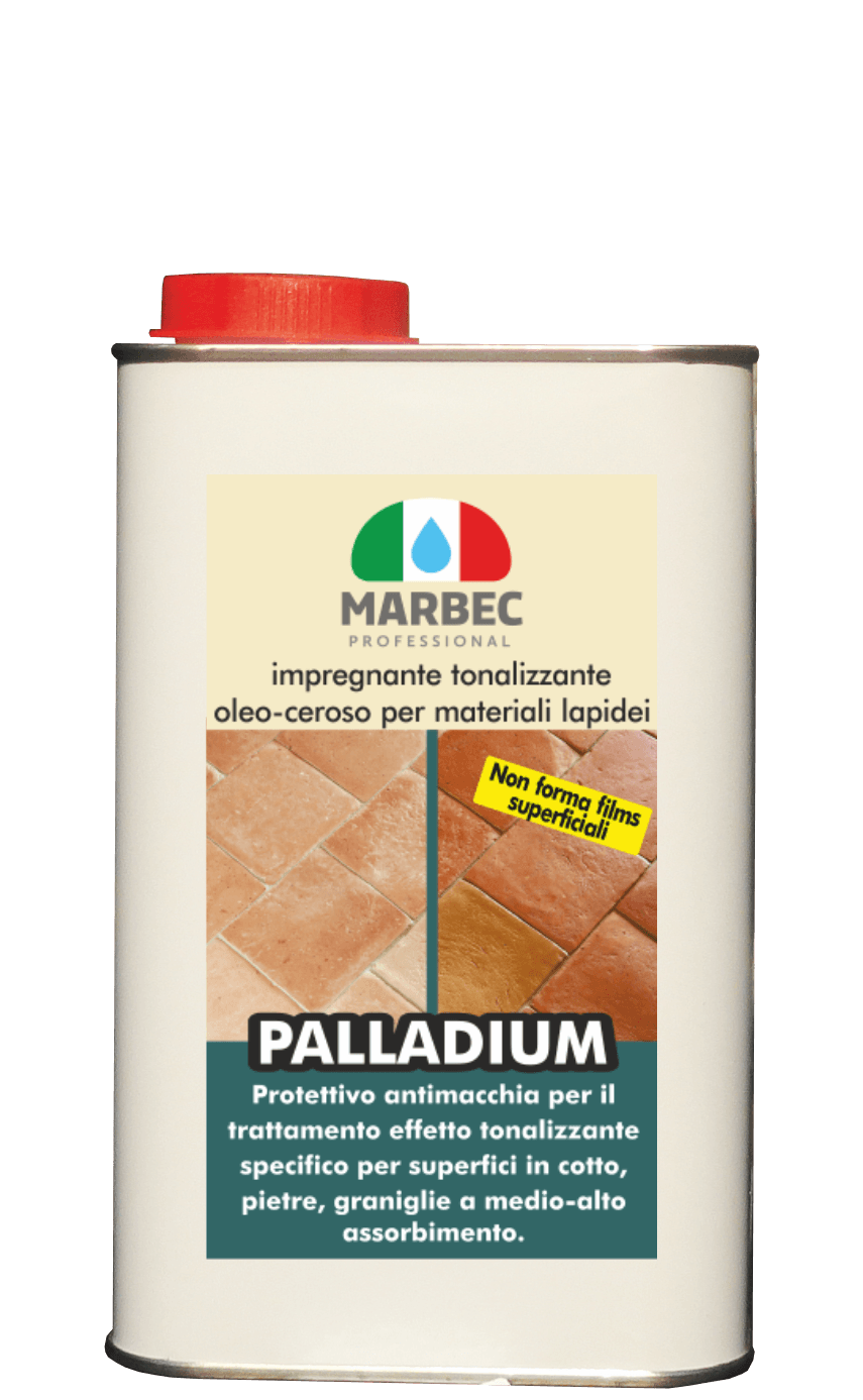 Marbec PALLADIUM 1LT | Oil-waxy toning impregnating agent for stone materials