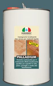 Marbec PALLADIUM 5LT | Impregnante tonalizzante oleo-ceroso per materiali lapidei