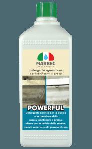MARBEC | POWERFUL 1LT Detergente sgrassatore per oli lubrificanti e grassi