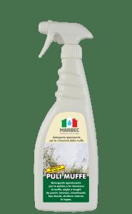 Marbec PULI MUFFE 750ml |  Detergente igienizzante  per la rimozione della muffa