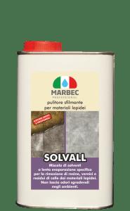 Marbec SOLVALL 1lt ! Pulitore sfilmante per materiali lapidei