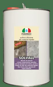 Marbec SOLVALL 5lt ! Pulitore sfilmante per materiali lapidei