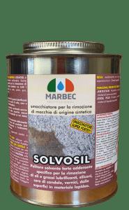 MARBEC - SOLVOSIL 1KG | smacchiatore per la rimozione di macchie di origine sintetica