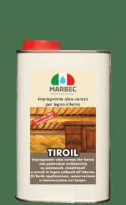 Marbec - TIROIL 1LT | Impregnante oleo-ceroso per legno interno