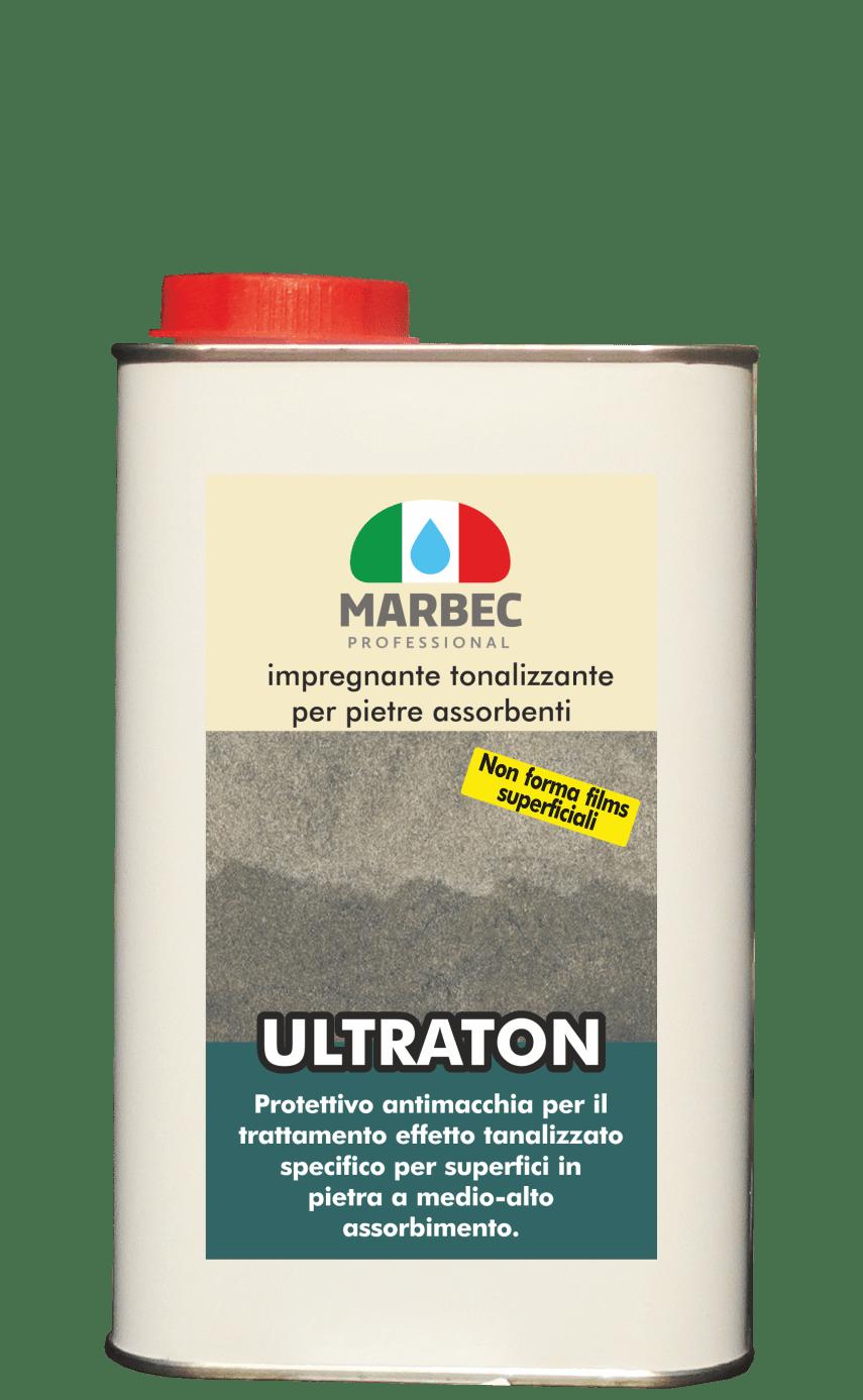 Marbec ULTRATON 1LT | impregnante tonalizzante per pietre assorbenti