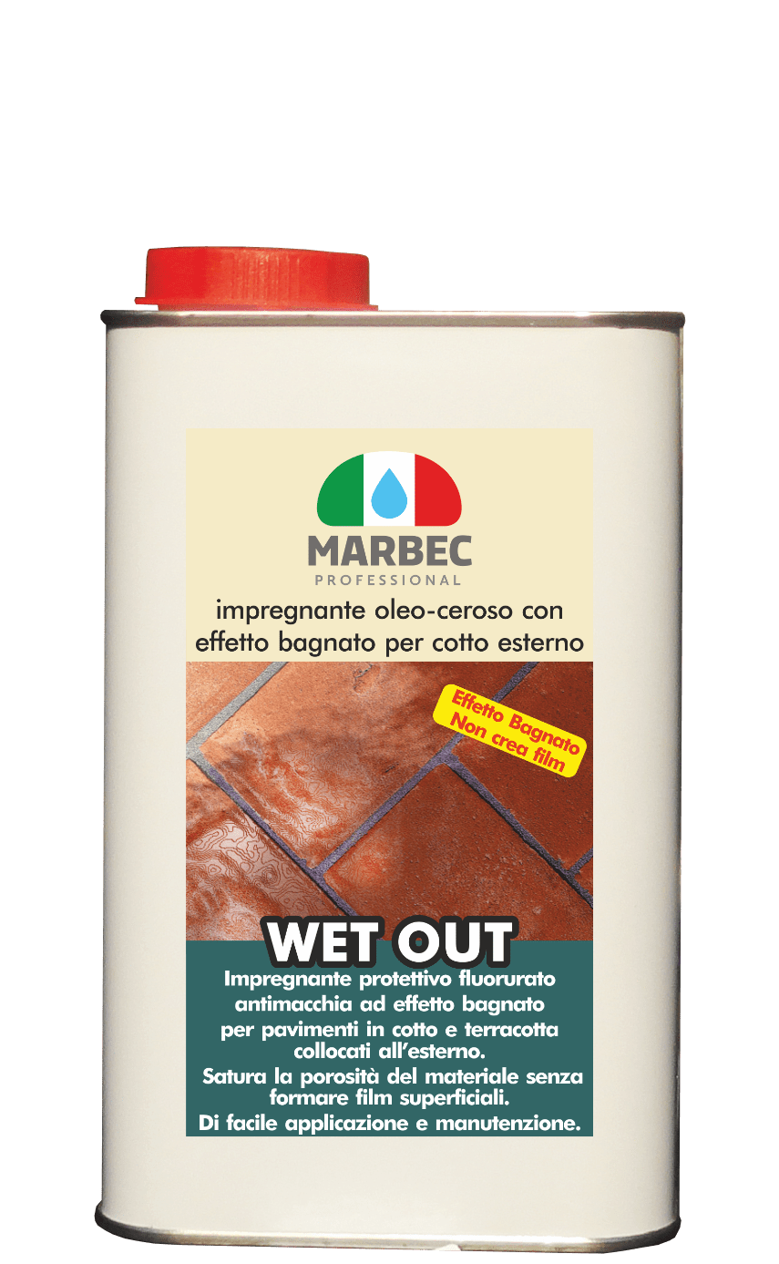 Detergente Per Cotto Esterno wet out