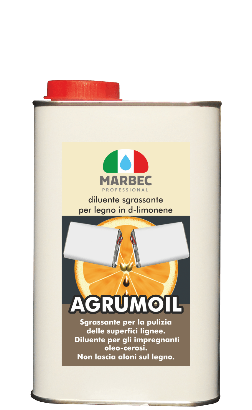 Marbec | AGRUMOIL 1LT Degreasing thinner for wood in d-limonene
