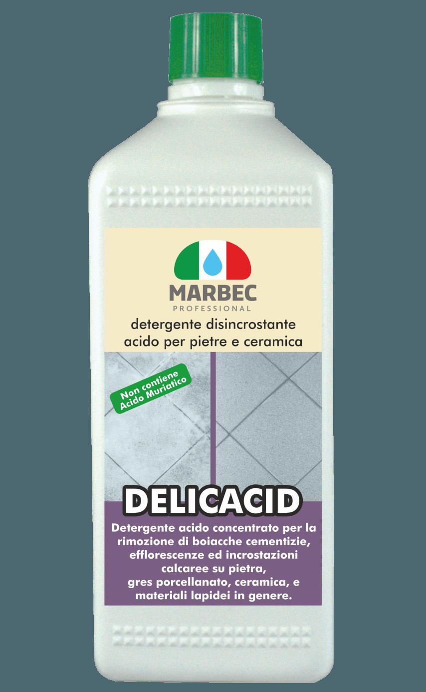 MARBEC | DELICACID Detergente disincrostante  acido per pietre e ceramica