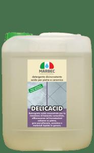 MARBEC | DELICACID 5LT Detergente disincrostante acido per pietre e ceramica