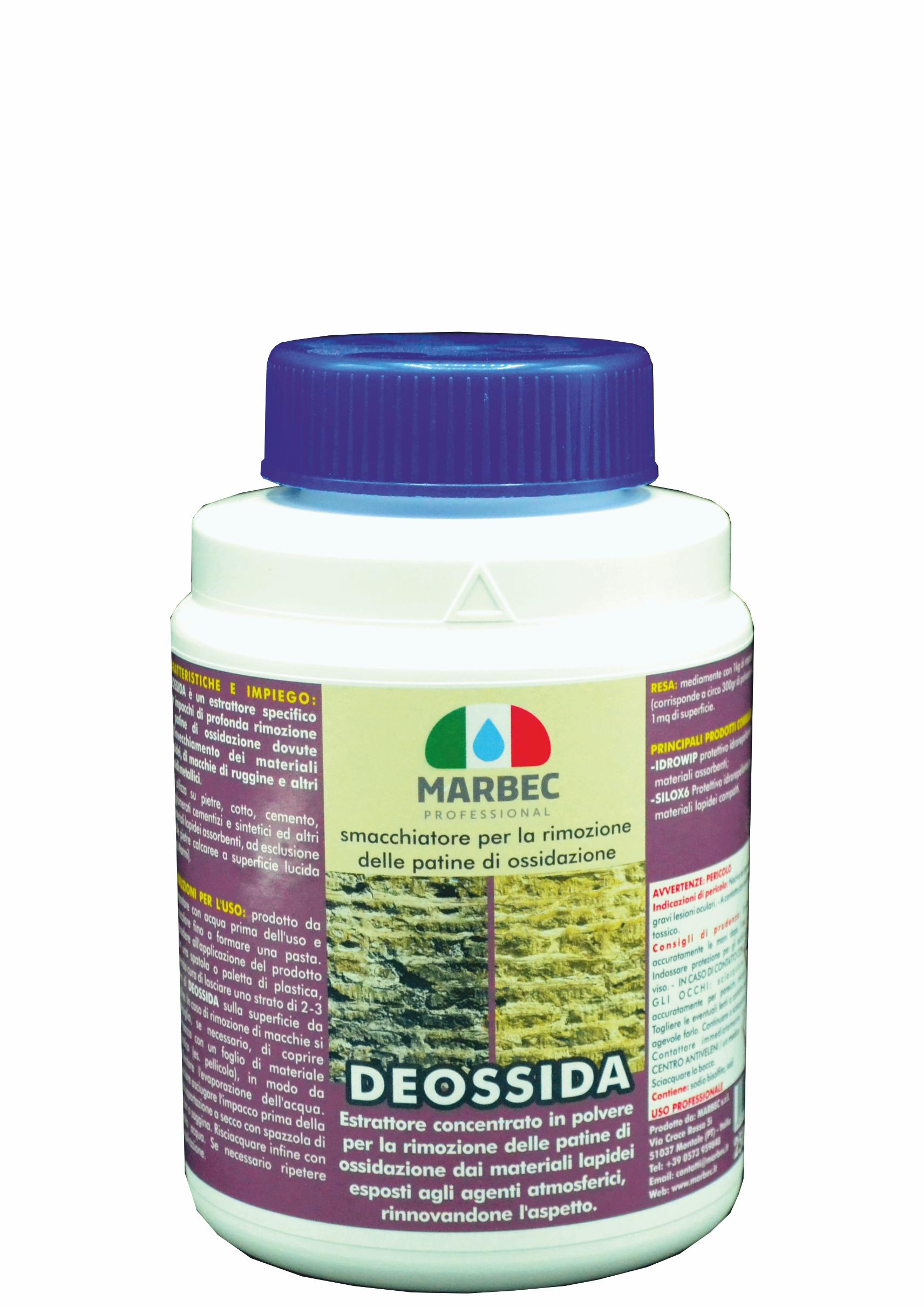 MARBEC | DEOSSIDA 250gr Pper la rimozione delle patine di ossidazione