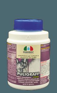 Marbec PULIGRAFF 1kg | Smacchiatore per inchiostri e dissolutore dei graffiti