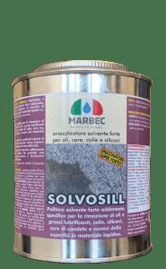 MARBEC | SOLVOSILL - Smacchiatore solvente forte per oli, cere, colle e siliconi