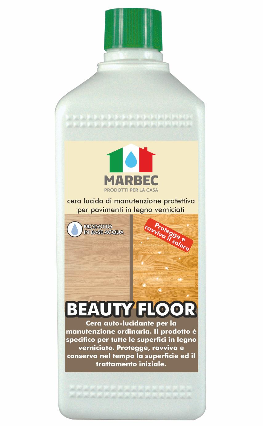 Marbec - BEAUTY FLOOR 1LT | cera protettiva e nutritiva per pavimenti in legno verniciati