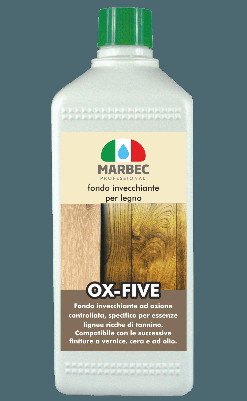 Marbec OX FIVE 1LT | Fondo invecchiante per legno