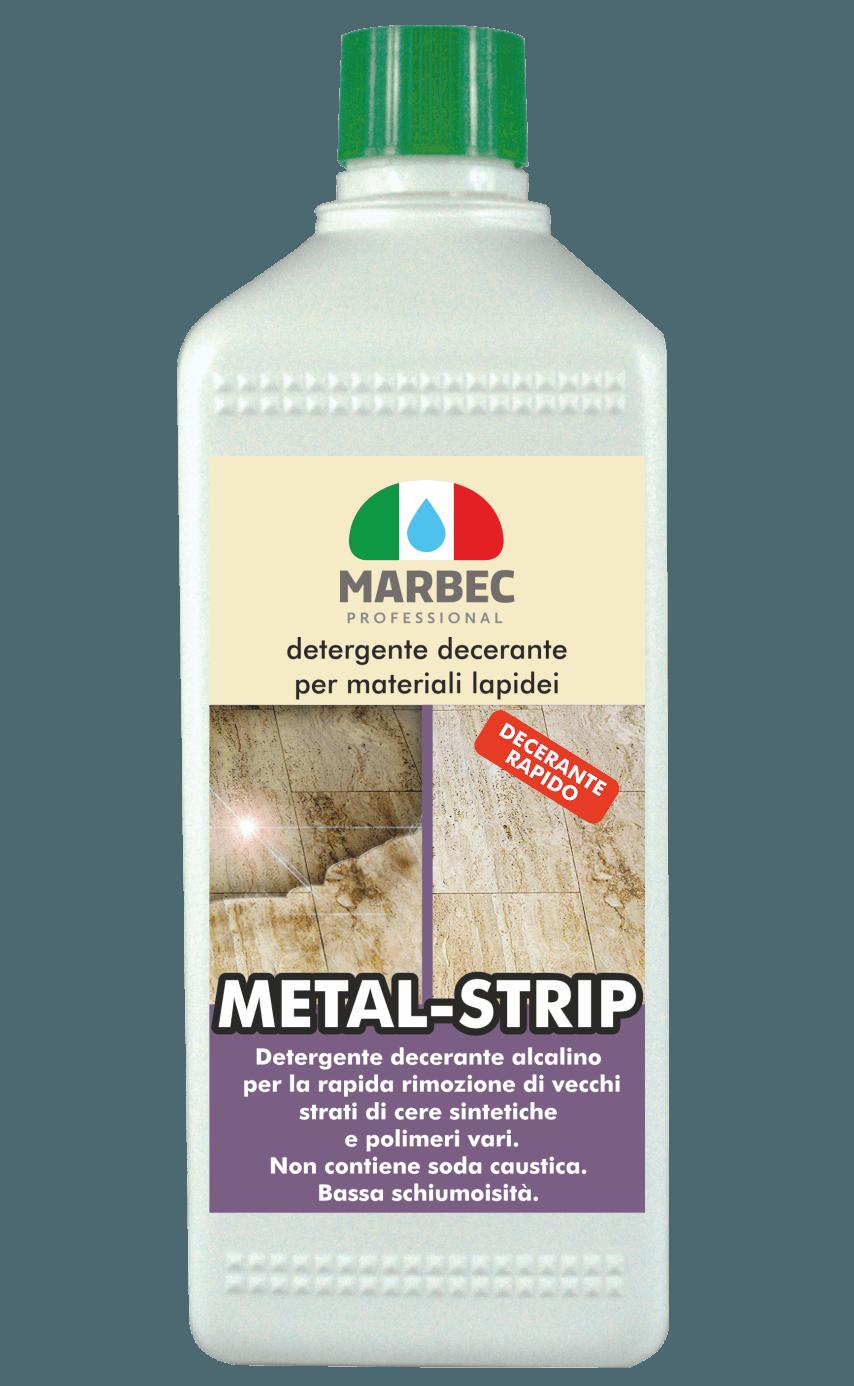 MARBEC | METAL-STRIP 1lt detergente decerante per materiali lapidei