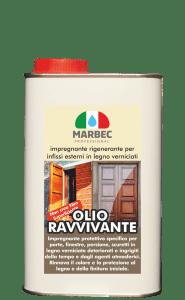 MARBEC | OLIO RAVVIVANTE  Impregnante rigenerante per infissi esterni in legno verniciati