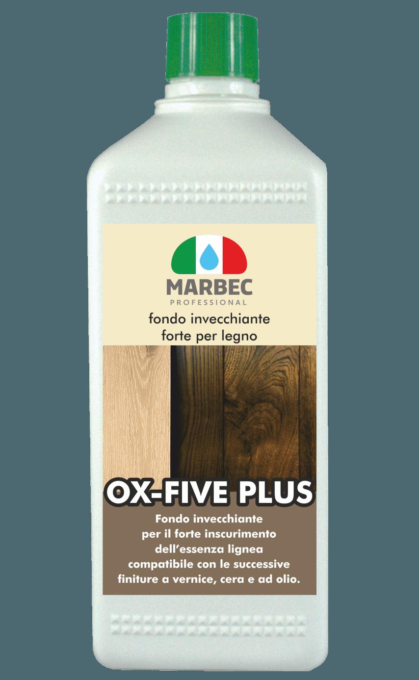 Marbec OX FIVE PLUS 1LT | Fondo invecchiante forte per legno