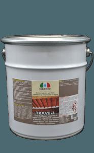 Marbec TRAVE-L 5lt | Finitore ceroso per travi, soffittature e rivestimenti in legno