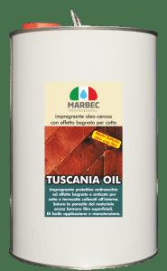 Marbec - TUSCANIA OIL 5LT | impregnante oleo-ceroso  con effetto bagnato per cotto