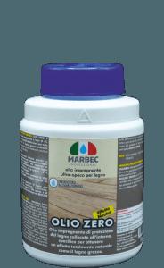 Marbec OLIO ZERO 1 KG | Olio impregnante ultra-opaco per legno