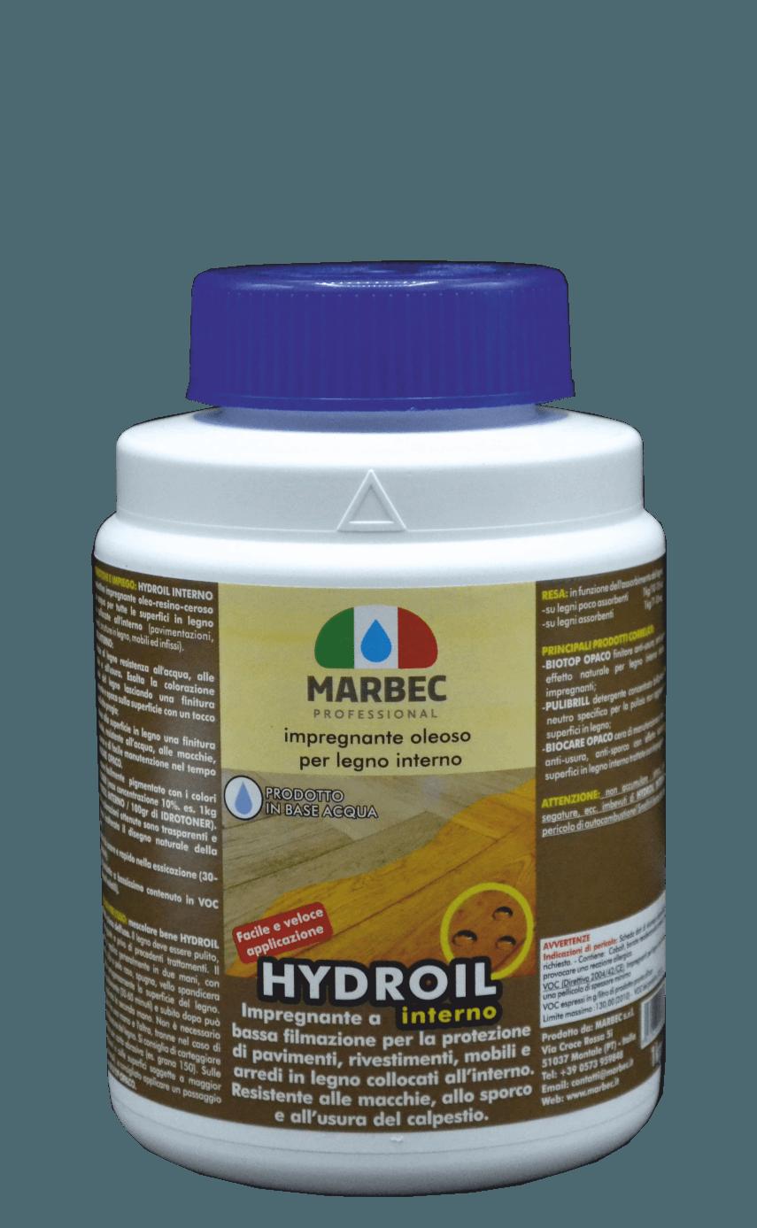 MARBEC |  HYDROIL INTERNO 1kg Impregnante oleoso per legno interno