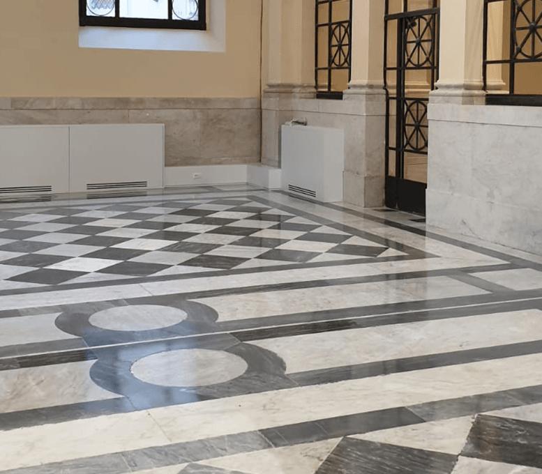 lucidature-pavimenti-marmo polishing marble floors
