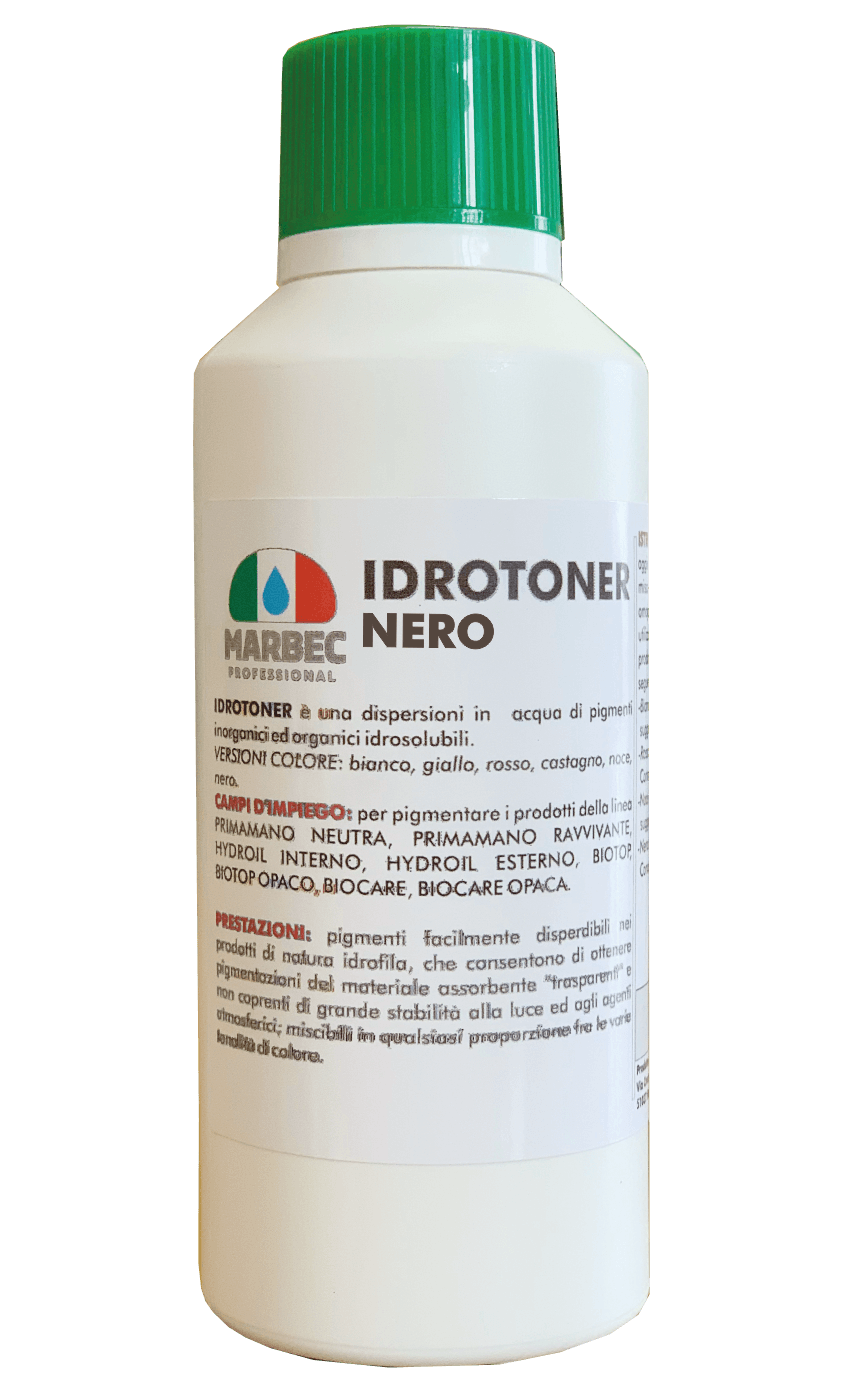 MARBEC | IDROTONER NERO 250 gr