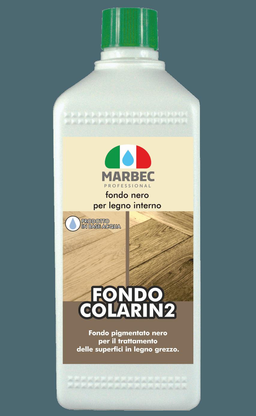 Marbec FONDO COLARIN2 1KG | Fondo nero per legno interno